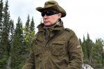 Russian President Vladimir Putin. Tuva region, southern Siberia. Between 1 and 3 August 2017.