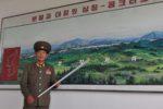 Concrete Wall, DMZ, North Korea.