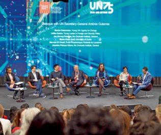 Dialogue with UN Secretary-General António Guterres