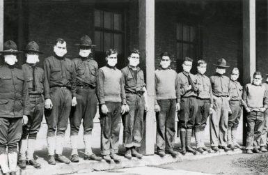 Hospital in Fort Porter, US, 1918